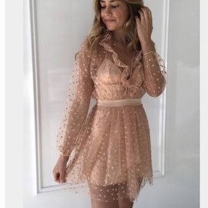 For Love and Lemons All That Glitters Dress